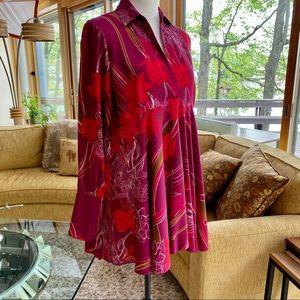 FREE PEOPLE Raspberry & Crimson, Dress-Tunic WOW💥